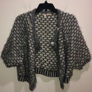 MOTH ~ Anthropologie Gray Sweater XS Wool/Angora
